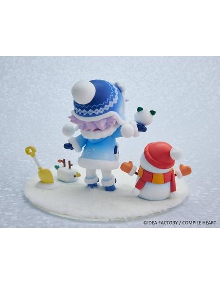 Hyperdimension Neptunia Statue Dekachiccha! Snow Nep Fuwafuwa Version 18 cm