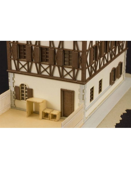 Is the order a rabbit?? 1/150 Paper Model Kit Anitecture Rabbit House 9 cm