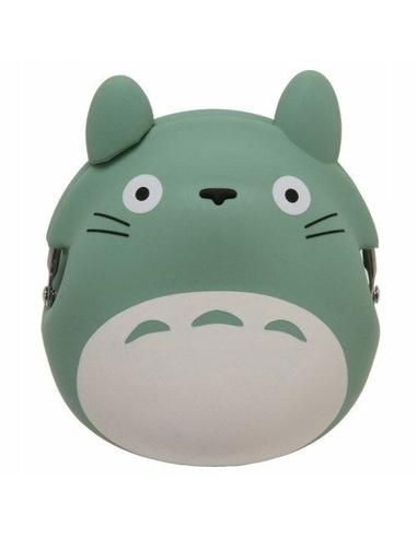 My Neighbor Totoro Mini Silicon Coin Purse Totoro green 9 cm