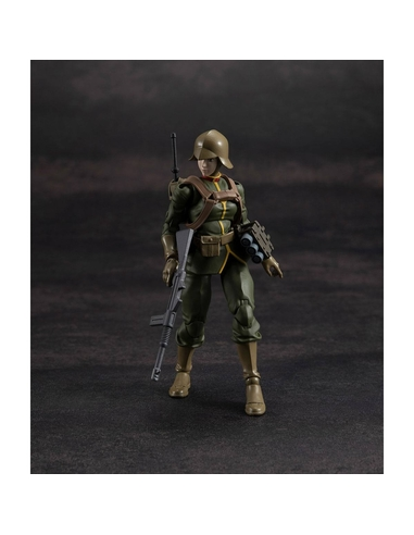 Mobile Suit Gundam G.M.G. Action Figure Principality of Zeon Army Soldier 03 10 cm