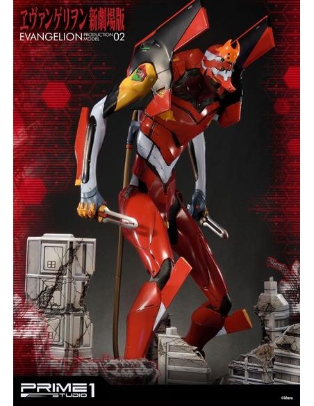 Neon Genesis Evangelion Statue EVA Production Model-02 74 cm
