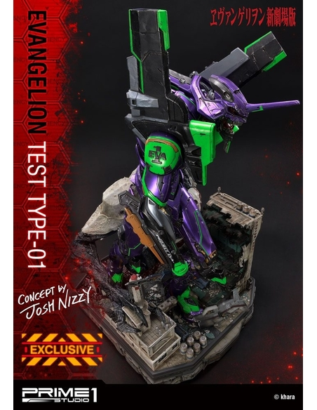 Neon Genesis Evangelion Statues Test Type-01 Concept by Josh Nizzi & Exclusive 68 cm Assortment (3)