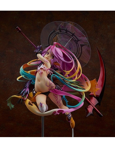 No Game No Life -Zero- Statue 1/8 Jibril Great War Ver. 31 cm