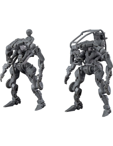 OBSOLETE Moderoid Plastic Model Kit 1/35 Multi-Purpose EXOFRAME (Gray) 9 cm