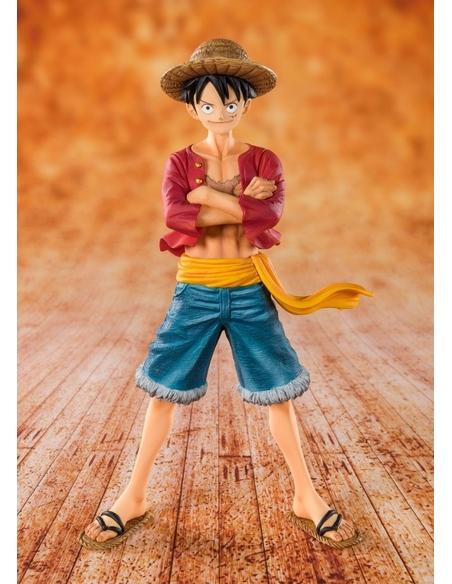 One Piece FiguartsZERO PVC Statue Straw Hat Luffy 14 cm