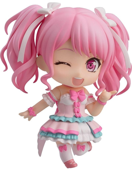 BanG Dream! Girls Band Party! Nendoroid Action Figure Aya Maruyama Stage Outfit Ver. 10 cm