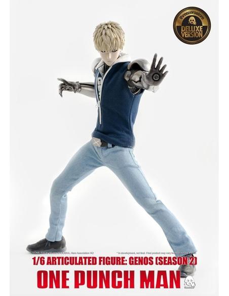 One Punch Man Action Figure 1/6 Genos (Season 2) Deluxe Version 30 cm