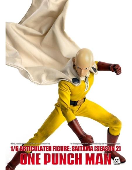 One Punch Man Action Figure 1/6 Saitama (Season 2) 30 cm
