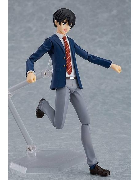 Original Character Figma Action Figure Male Blazer Body (Ryo) 14 cm