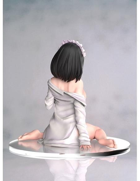 Original Character Statue Maid Black Bikini Chan 12 cm