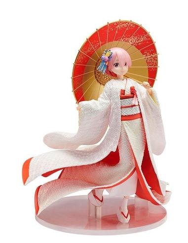 Re -ZERO -Starting Life in Another World- PVC Statue 1/7 Ram -Shiromuku- 24 cm